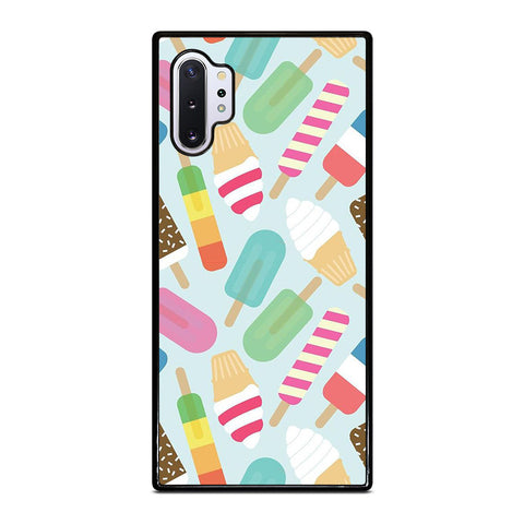 ICE CREAM COLLAGE ART PATTERN Samsung Galaxy Note 10 Plus Case Cover
