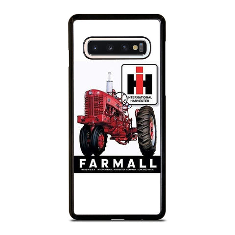 IH INTERNATIONAL HARVESTER  FARMALL TRACTOR RETRO amsung Galaxy S10 Case Cover