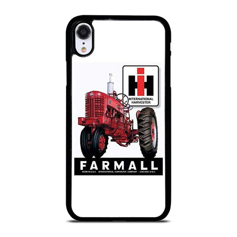 IH INTERNATIONAL HARVESTER  FARMALL TRACTOR RETRO iPhone XR Case Cover