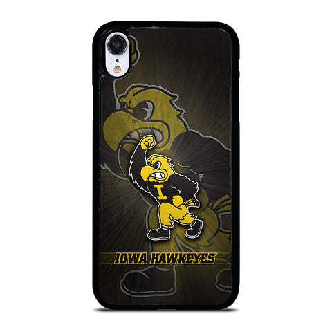 IOWA HAWKEYES MASCOT iPhone XR Case Cover