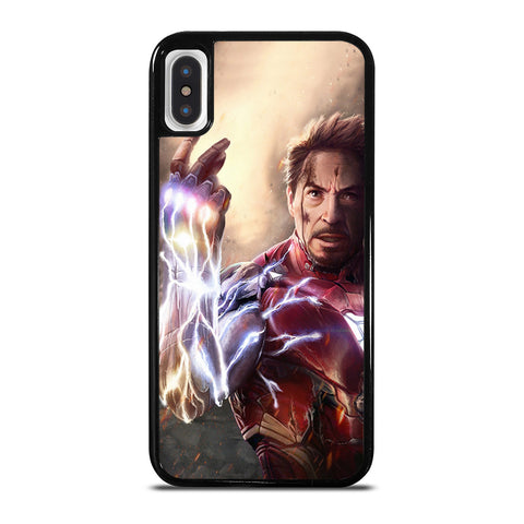 IRON MAN AVENGERS SNAP iPhone X / XS Case Cover