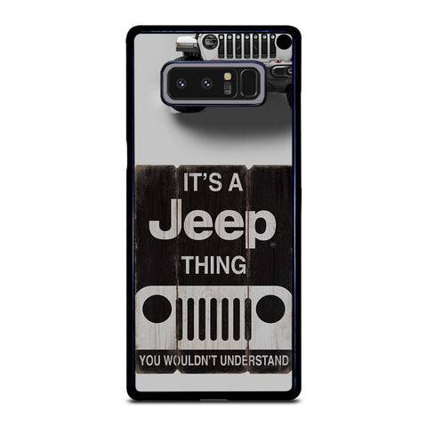 IT'S A JEEP THING Samsung Galaxy Note 8 Case Cover