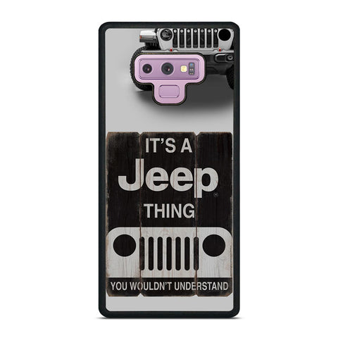 IT'S A JEEP THING Samsung Galaxy Note 9 Case Cover
