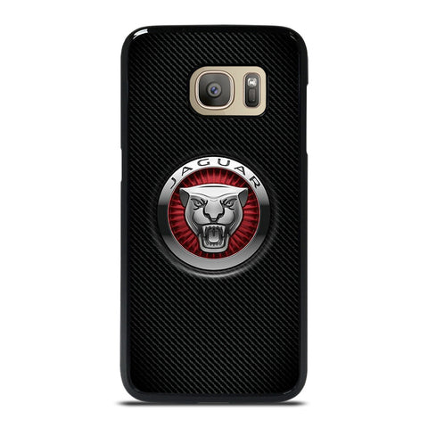 JAGUAR LOGO CARBON Samsung Galaxy S7 Case Cover