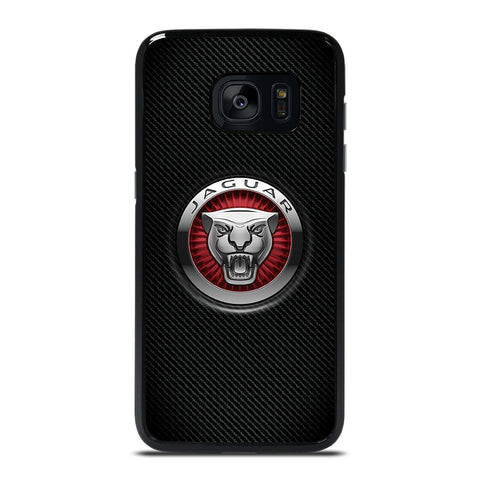 JAGUAR LOGO CARBON Samsung Galaxy S7 Edge Case Cover