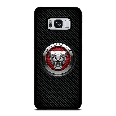 JAGUAR LOGO CARBON Samsung Galaxy S8 Case Cover