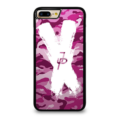 JAKE PAUL LOGO CROSS CAMO iPhone 7 / 8 Plus Case Cover