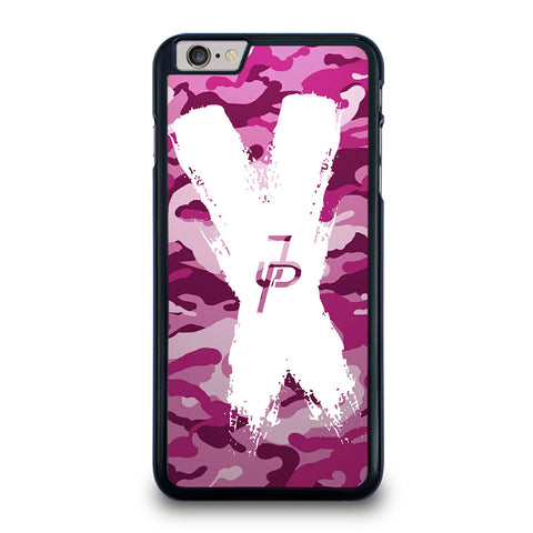JAKE PAUL LOGO CROSS CAMO iPhone 6 / 6S Plus Case Cover