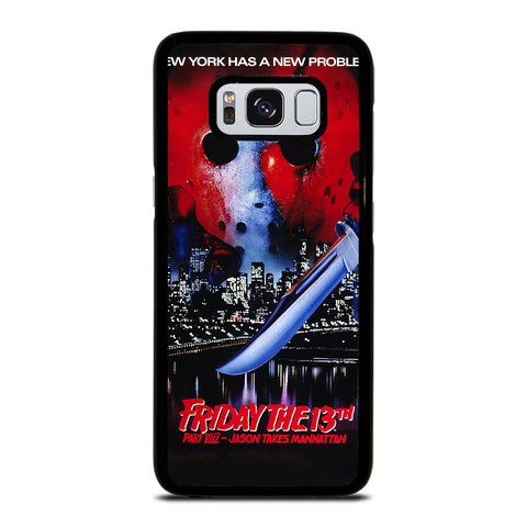 JASON FRIDAY THE 13TH HORROR MOVIE Samsung Galaxy S8 Case Cover