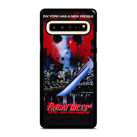 JASON FRIDAY THE 13TH HORROR MOVIE Samsung Galaxy S10 5G Case Cover