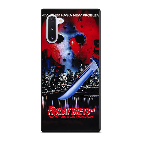 JASON FRIDAY THE 13TH HORROR MOVIE Samsung Galaxy Note 10 Case Cover