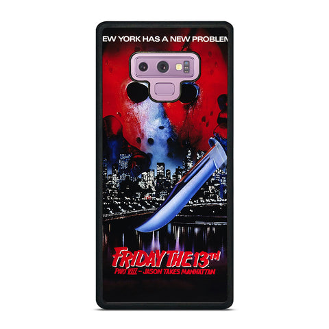 JASON FRIDAY THE 13TH HORROR MOVIE Samsung Galaxy Note 9 Case Cover