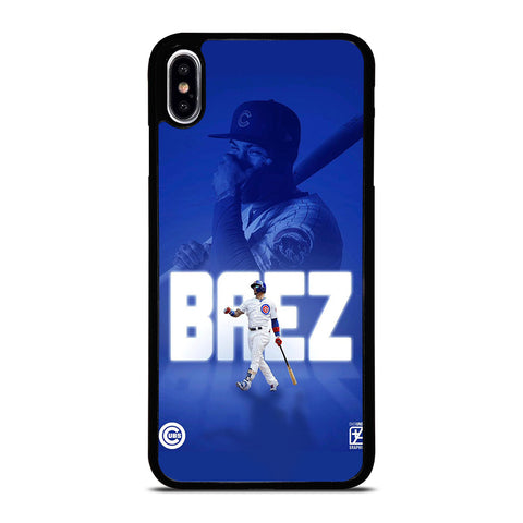JAVIER BAEZ CHICAGO CUBS BASEBALL iPhone XS Max Case Cover