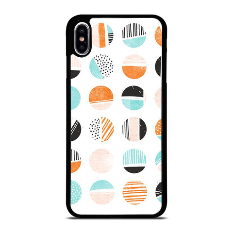 JAZZ IT UP PATTERN ART iPhone XS Max Case Cover