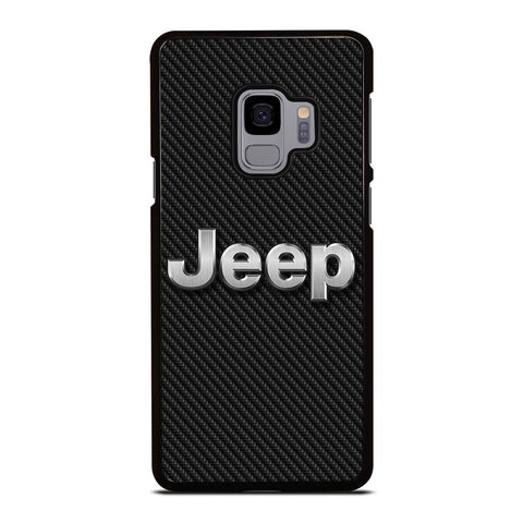 JEEP LOGO CARBON Samsung Galaxy S9 Case Cover