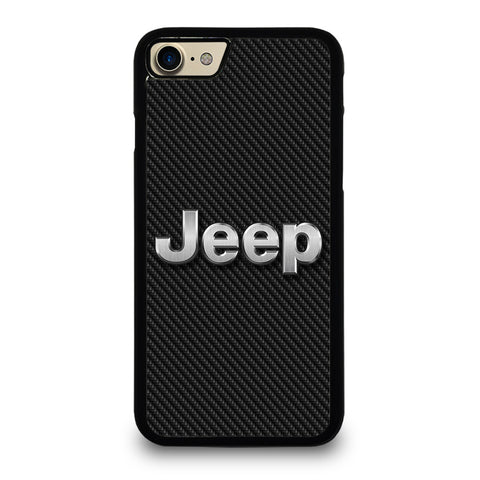 JEEP LOGO CARBON iPhone 7 / 8 Case Cover