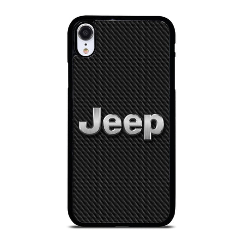 JEEP LOGO CARBON iPhone XR Case Cover
