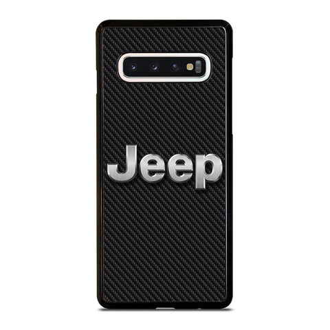 JEEP LOGO CARBON Samsung Galaxy S10 Case Cover