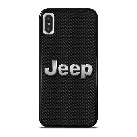 JEEP LOGO CARBON iPhone X / XS Case Cover