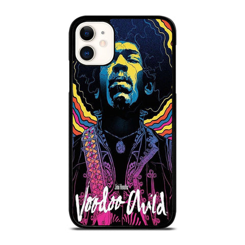 JIMI HENDRIX ART iPhone 11 Case Cover