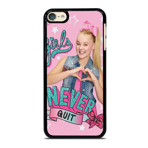 JOJO SIWA GIRL NEVER QUIT iPod Touch 6 Case