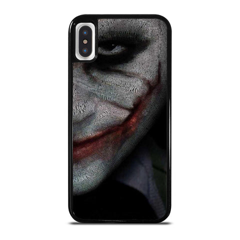 JOKER HEATH LEDGER ART iPhone X / XS Case Cover