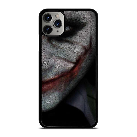 JOKER HEATH LEDGER ART iPhone 11 Pro Max Case Cover