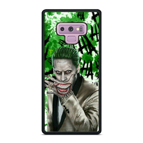JOKER JARED LETO DC Samsung Galaxy Note 9 Case Cover