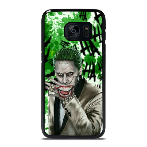 JOKER JARED LETO DC Samsung Galaxy S7 Edge Case Cover
