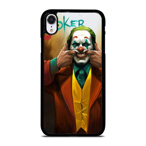JOKER JOAQUIN PHOENIX SMILE iPhone XR Case Cover