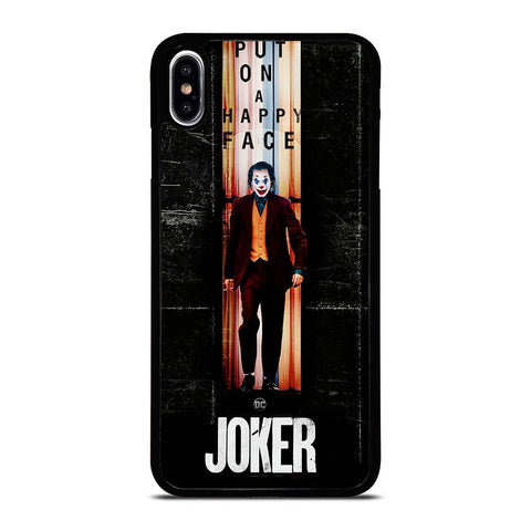 JOKER PUT ON A HAPPY FACE iPhone XS Max Case Cover