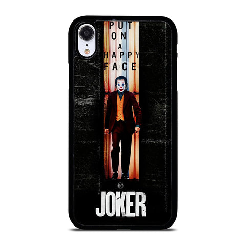 JOKER PUT ON A HAPPY FACE iPhone XR Case Cover