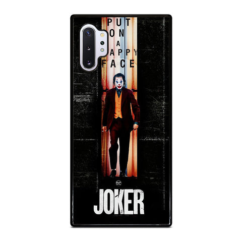 JOKER PUT ON A HAPPY FACE Samsung Galaxy Note 10 Plus Case Cover