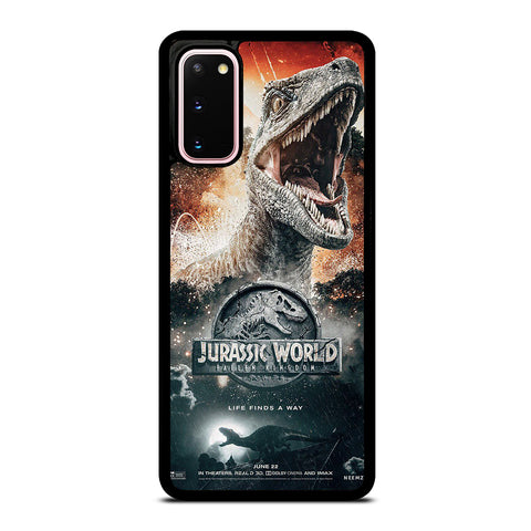 JURASSIC WORLD FALLEN KINGDOM POSTER Samsung Galaxy S20 Case Cover