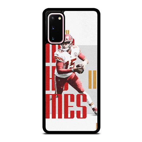 KANSAS CITY PATRICK MAHOMES NFL Samsung Galaxy S20 Case Cover