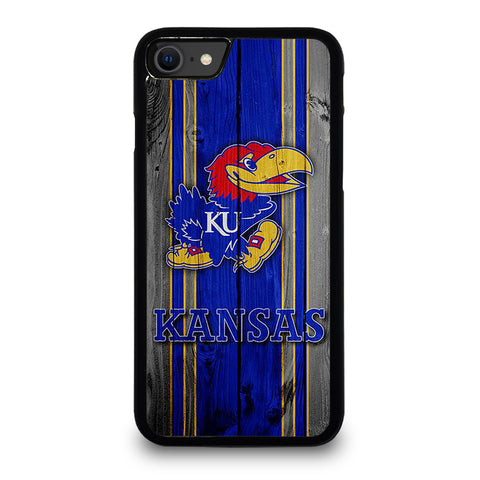 KANSAS JAYHAWKS LOGO iPhone SE 2020 Case Cover