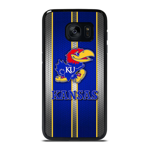 KANSAS JAYHAWKS ICON Samsung Galaxy S7 Edge Case Cover