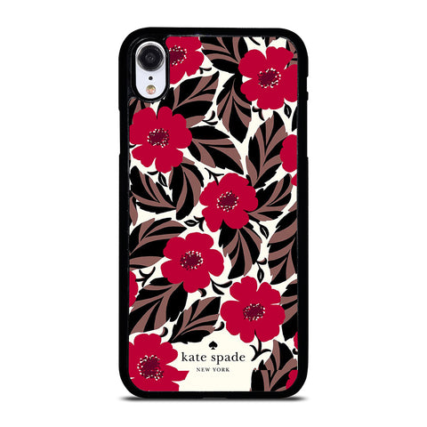 KATE SPADE FLOWER RED iPhone XR Case Cover