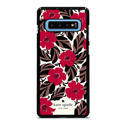 KATE SPADE FLOWER RED Samsung Galaxy S10 Plus Case Cover