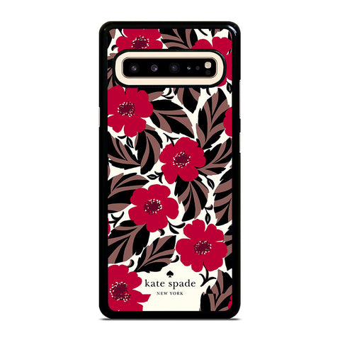 KATE SPADE FLOWER RED Samsung Galaxy S10 5G Case Cover