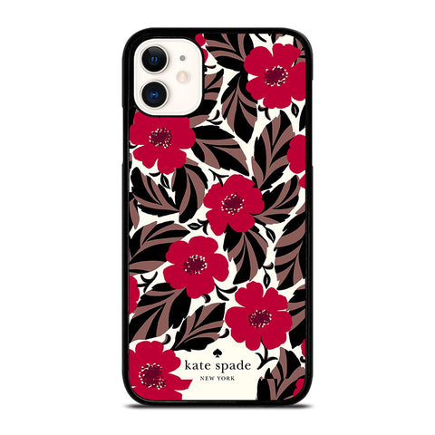 KATE SPADE FLOWER RED iPhone 11 Case Cover