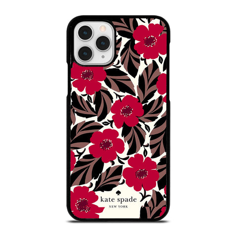 KATE SPADE FLOWER RED iPhone 11 Pro Case Cover
