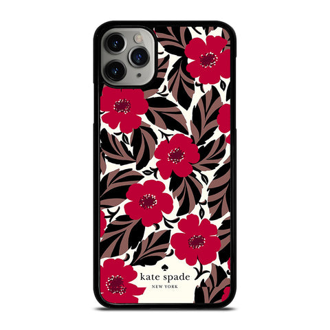 KATE SPADE FLOWER RED iPhone 11 Pro Max Case Cover