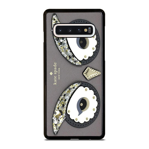 KATE SPADE OWL APPLIQUE Samsung Galaxy S10 Case Cover