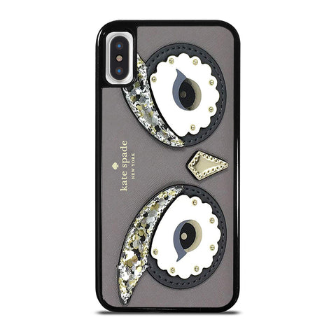 KATE SPADE OWL APPLIQUE iPhone X / XS Case Cover