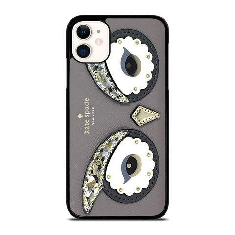 KATE SPADE OWL APPLIQUE iPhone 11 Case Cover
