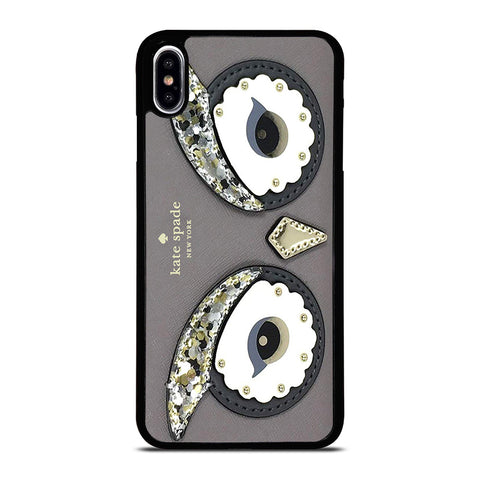 KATE SPADE OWL APPLIQUE iPhone XS Max Case Cover