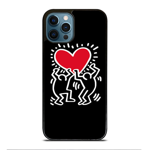 KEITH HARING LOVE iPhone 12 Pro Max Case Cover