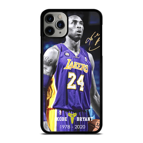 KOBE BRYANT 1978-2020 LAKERS iPhone 11 Pro Max Case Cover