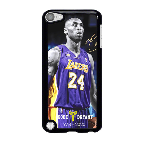 KOBE BRYANT 1978-2020 LAKERS iPod Touch 5 Case